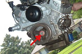 Zigz Auto Notes: LS1 - Part 8: Harmonic Balancer Removal