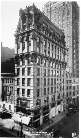 Daytonian in Manhattan: The 1902 Knox Hat Buildling - 452 Fifth Avenue