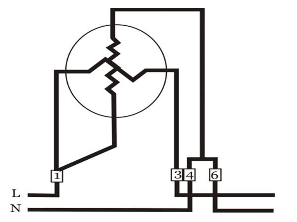 wiring diagram kwh meter prabayar
