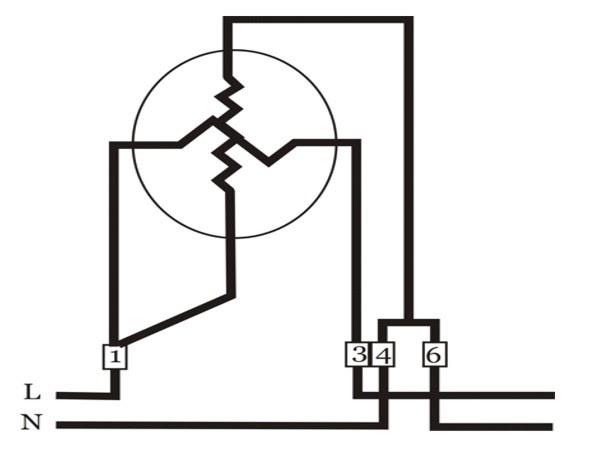 Teknik Listrik: Teknik : Diagram Pengawatan KWH Meter