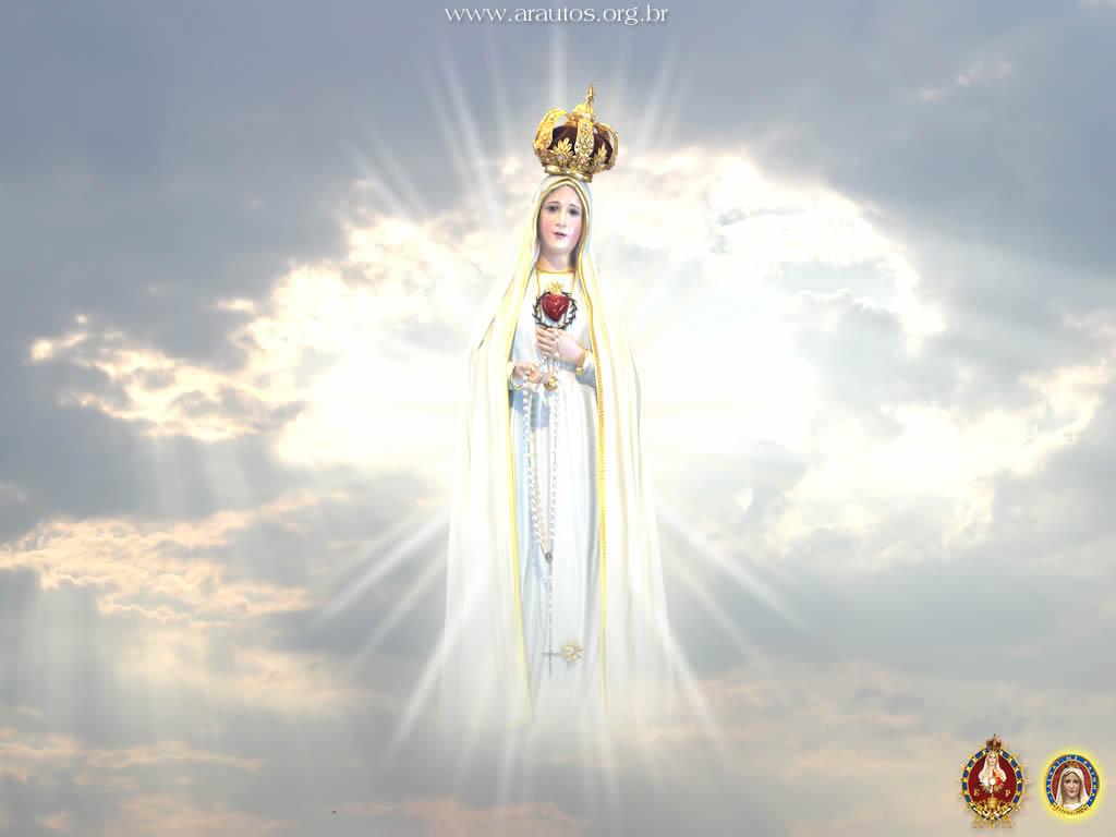 Nossa Senhora Aparecida Nossa Senhora De Fatima: Juventude CATOLICA33: Papel De Parede