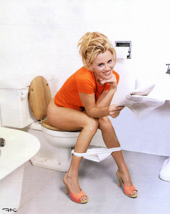 Nude In Toilet 62