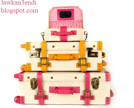 حقائب السفر الاكثر اناقة للمراة الانيقة