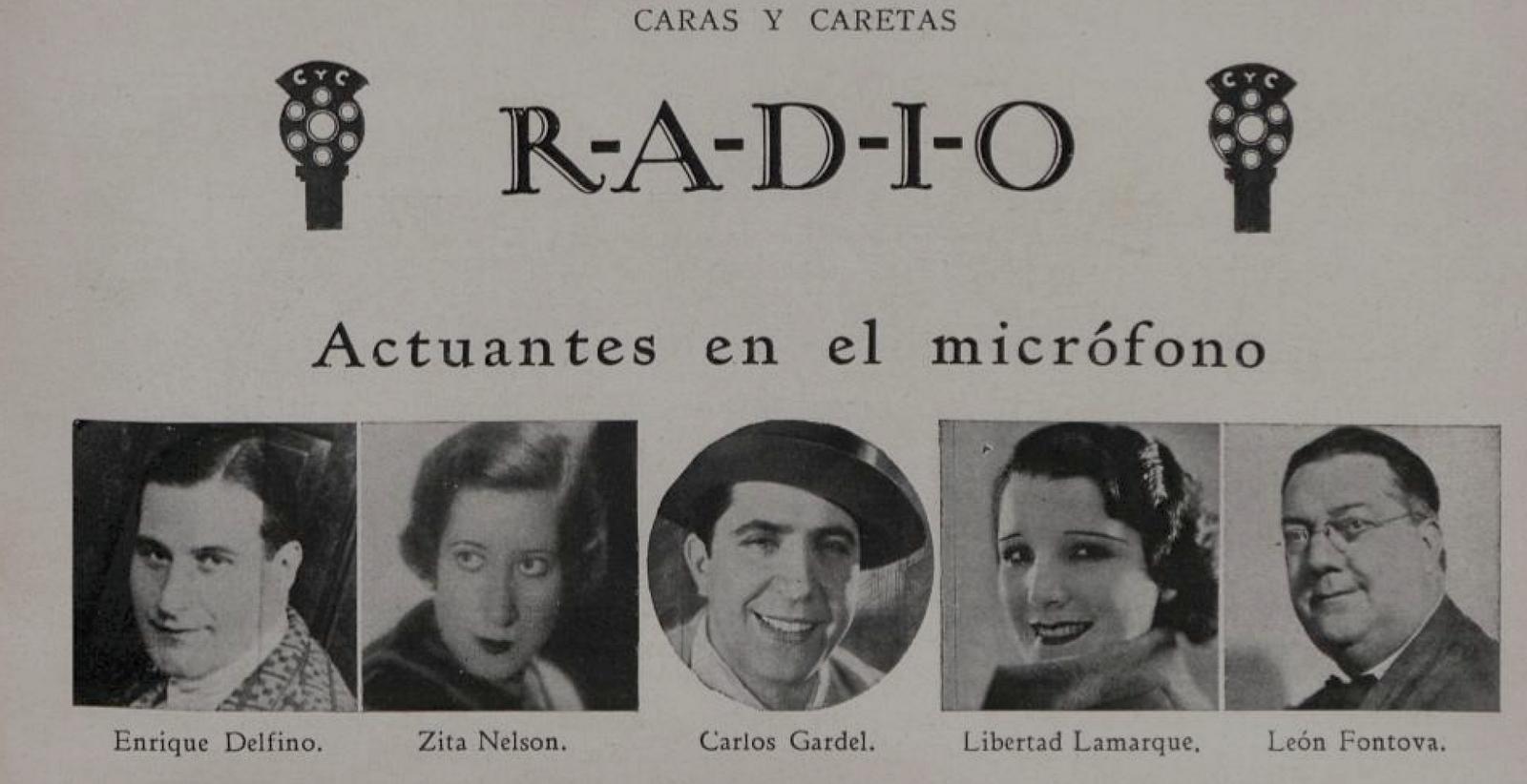 Gardel fue de los primeros en adivinar el futuro del cine como  entretenimiento masivo  en esa época ya había comenzado a dar sus primeros  recitales en radio ... 12c032a347a