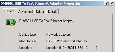 Driver USB Etherner AS601