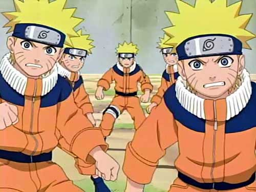 Shadow Clone Naruto power - Anime Picture