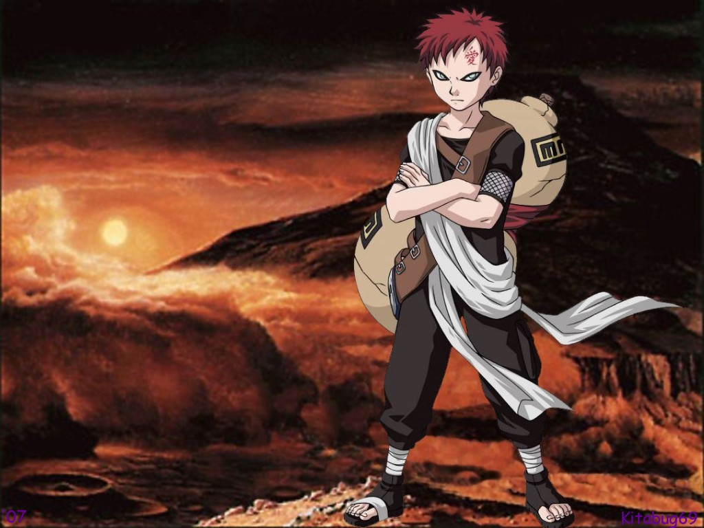 Gaara Of The Sand Wallpapers Naruto Sasuke Wallpaper