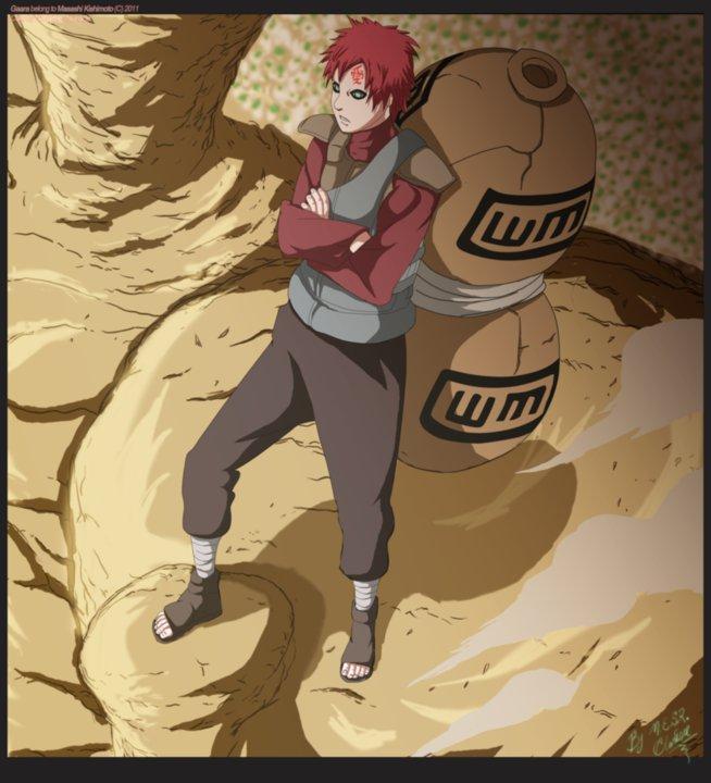 Gaara Kazekage - Anime Picture