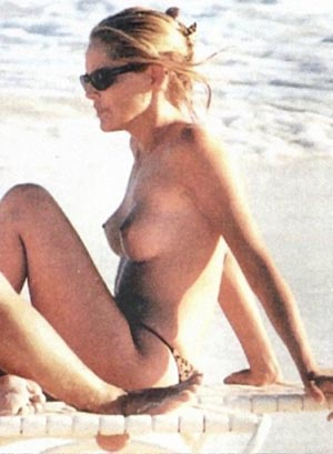 Like Sharon stone naked at beach something is