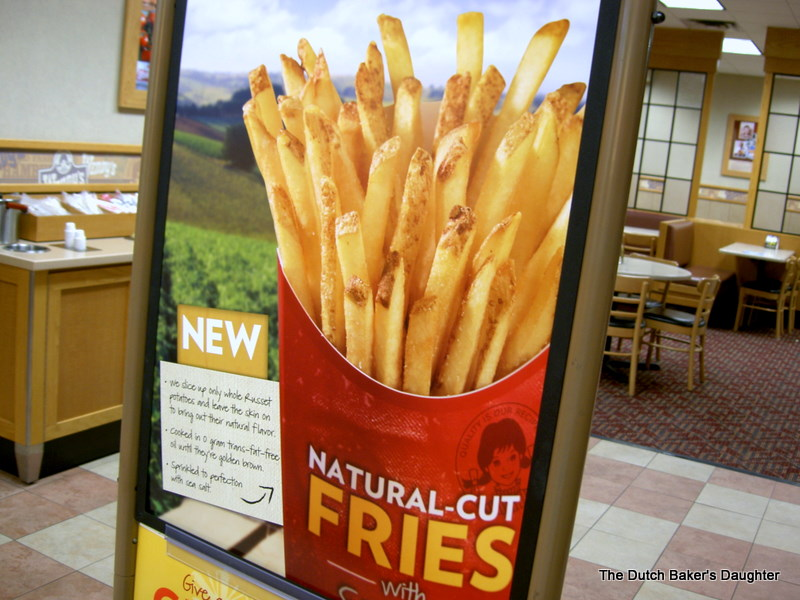The Dutch Baker's Daughter: Wendy's New Natural Cut Fries ...