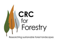 CRC - Cooperative Research Centre for Forestry - An Australian Research and Development Consortium formed by CSIRO, Department of Sustainability and Environment (Victoria), Forest and Wood Products Australia Limited, Forestry Tasmania, Forests and Forest Industry Council of Tasmania, Gunns Ltd, Hansol P I Pty Ltd, Murdoch University, Oji Paper Company Limited, Queensland Department of Primary Industries and Fisheries, Southern Cross University, University of Melbourne Forest Science, University of Tasmania School of Plant Science, WA Plantation Resource Ltd, Australian Forest Contractors Association, Australian National University, Department of Economic Development (Tasmania), Forest Enterprises Australia Ltd, Forest Practices Authority (Tasmania), Forest Products Commission Western Australia, Forestry SA, Hancock Victorian Plantations Pty Ltd, Integrated Tree Cropping Limited, Midway Limited, New South Wales Department of Primary Industries, Norske Skog Paper Mills (Australia) Ltd, PIRSA Forestry, Southern Tree Breeding Association, Timberlands Pacific Pty Ltd, University of the Sunshine Coast, VicForests