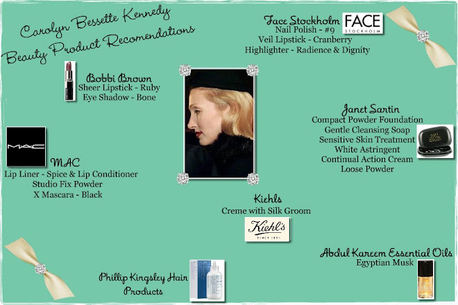Carolyn Bessette Kennedy:Beauty Products & Reviews