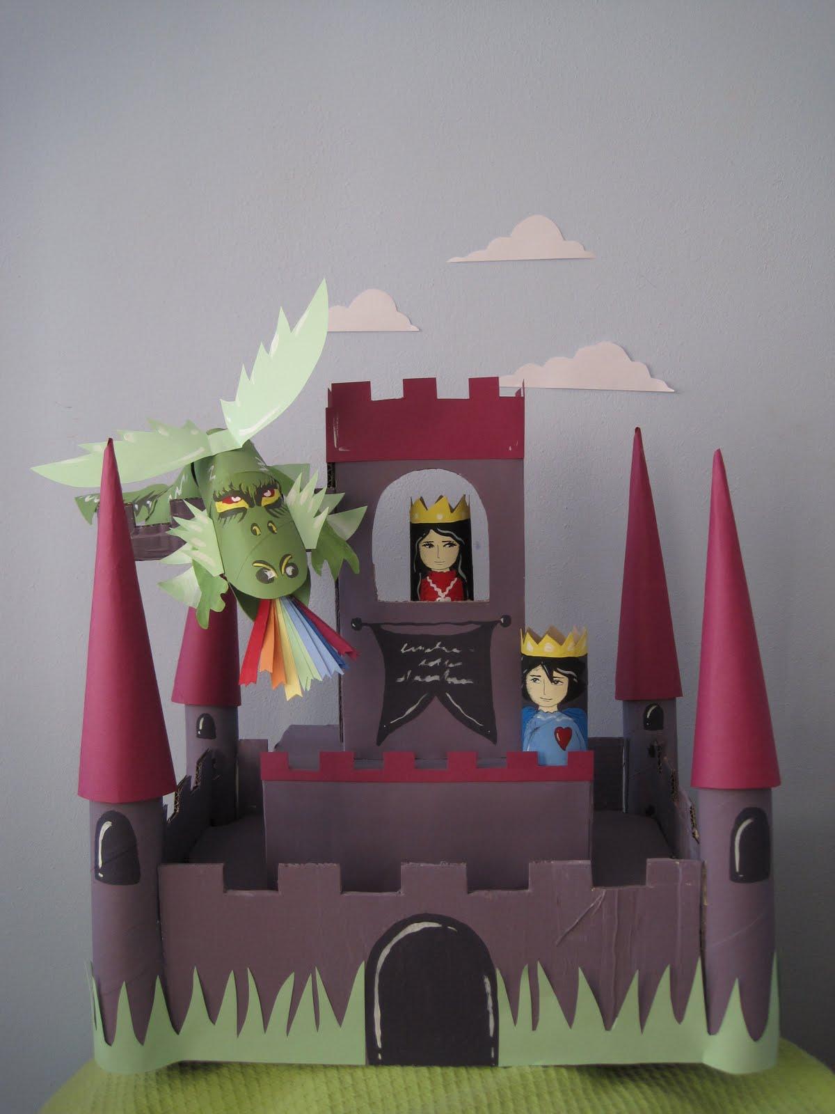 manumanie-kids: Castello di cartone