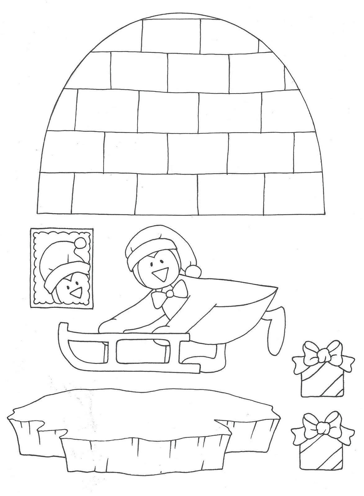 manumanie-kids: Biglietto di Natale...pop-up!