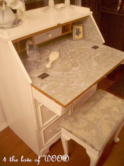 4 The Love Of Wood Designer Secretary Revamped Vintage