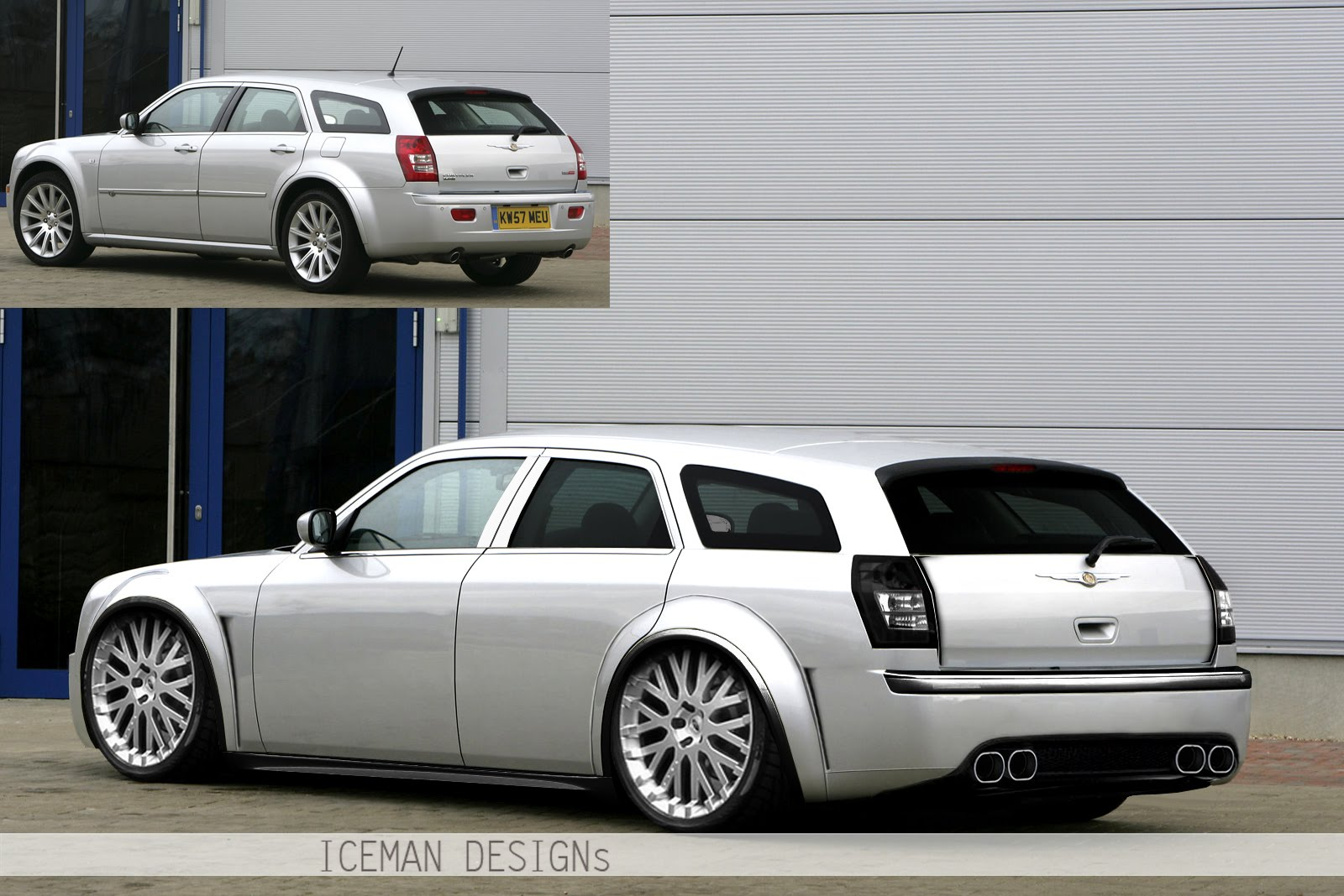 icemangraphics chrysler 300c touring dub by iceman. Black Bedroom Furniture Sets. Home Design Ideas
