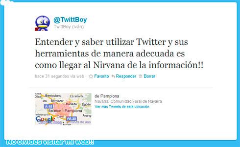 Nirvana twittero