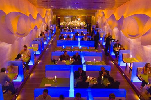 Marc Newson Chair Brown Leather Bucket Designs And Designers: Karim Rashid Morimoto Restaurant