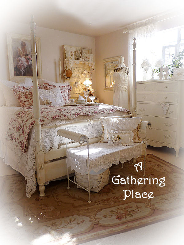 My Romantic Cottage Bedroom Lovin The Lighter Side Of