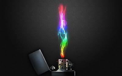 mechero-emitiendo-llama-de-varios-colores