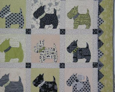 Quilt Pattern Scottie Dog My Quilt Pattern