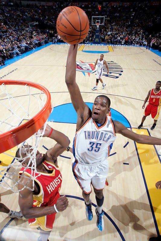 c151aa14015 You Got Dunked On  2009-2010 NBA Regular Season  Kevin Durant Dunks ...