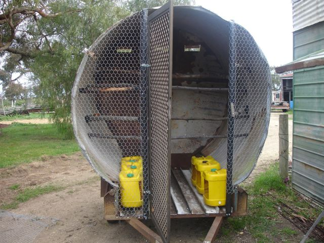 Ringo S Permaculture Adventures Mobile Chicken House