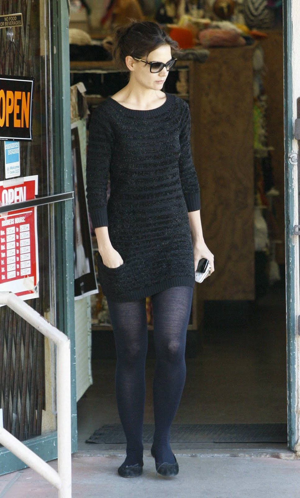 Celebrity Whereabouts Katie Holmes Candids Out In Los