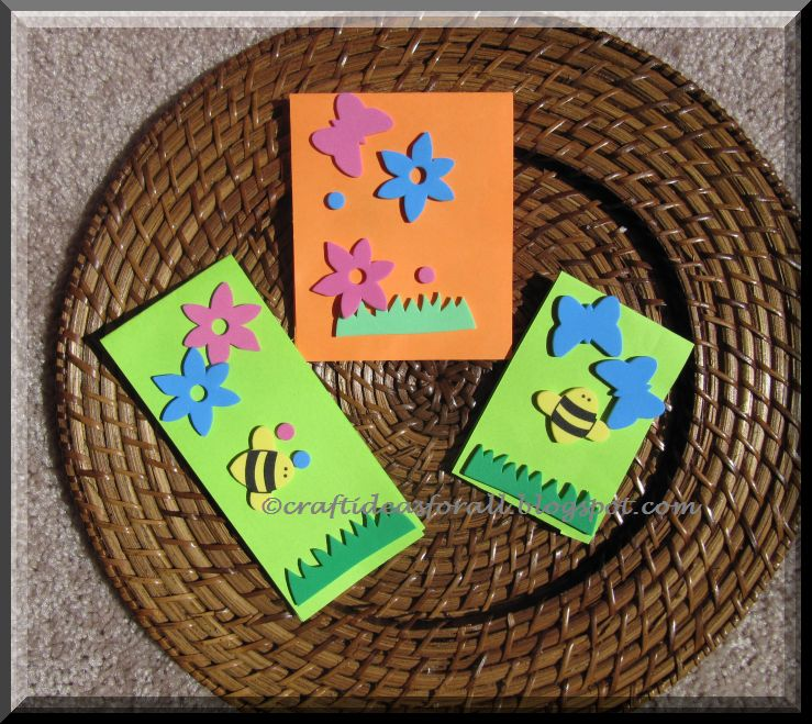 Craft ideas for all card making for toddlers for Craft supplies for card making