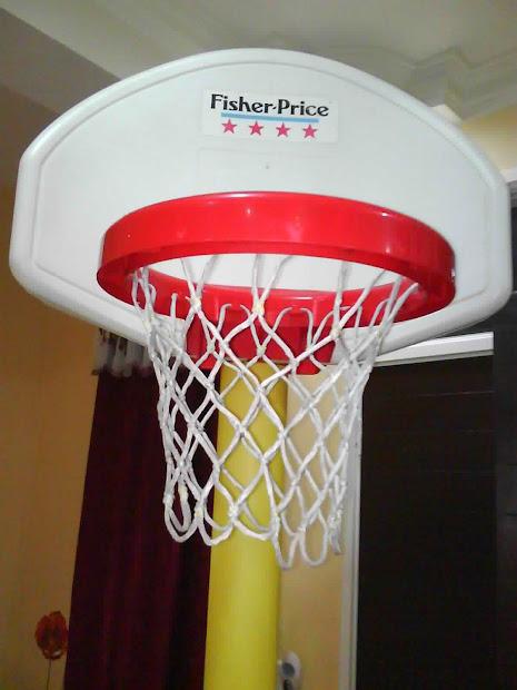 Mybundletoys Fisher Basketball Hoop