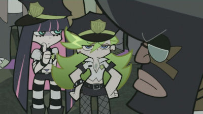 zombie panty and stocking