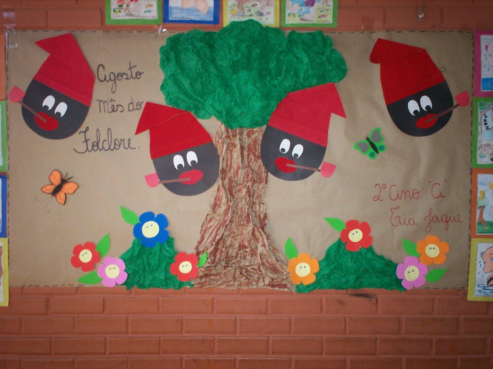 Painel Dia Do Folclore: Blog Da Tia Jaque: Painel Folclore /2010