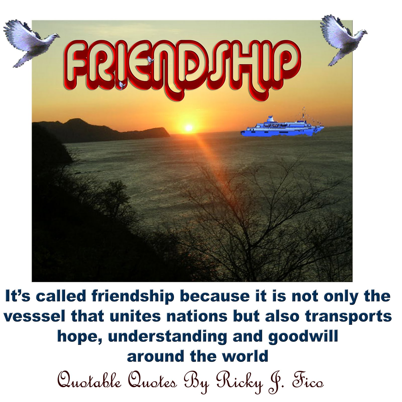 Friendship Greatness: Friendship Is Great
