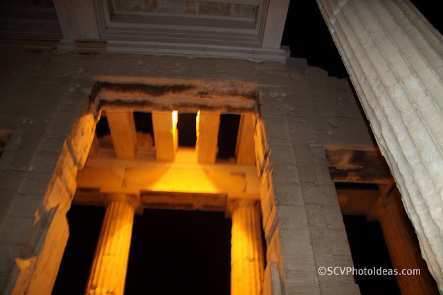 Acropolis propylaea (entrance) interior