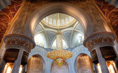 lampadario moschea Zayed