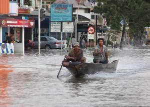 Samarinda, banjir
