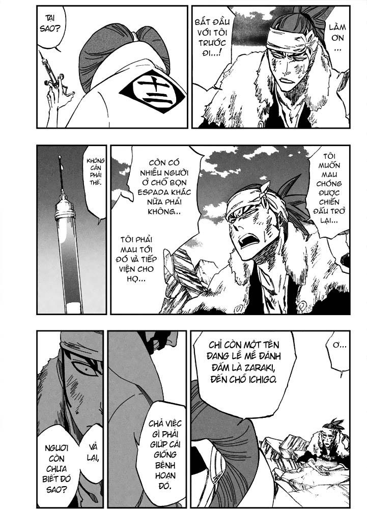 Bleach chapter 307 trang 8