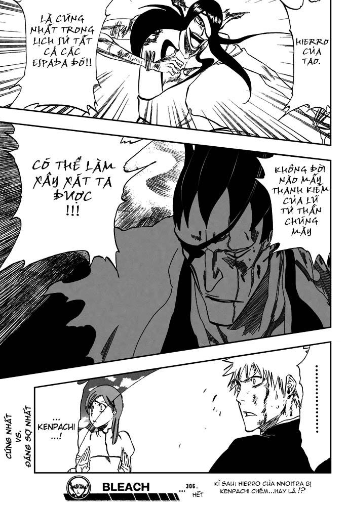 Bleach chapter 306 trang 21