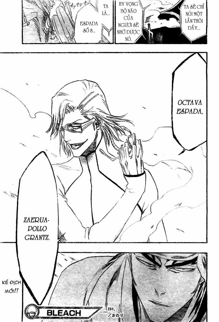Bleach chapter 264 trang 23