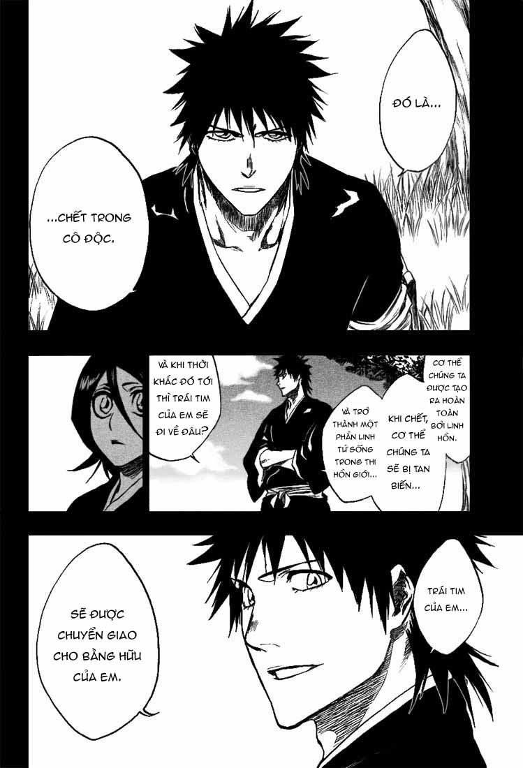 Bleach chapter 268 trang 17