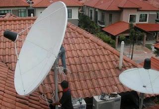Cara mudah menikmati siaran TV luar negeri dengan gratis melalui satelit menggunakan antena parabola digital.