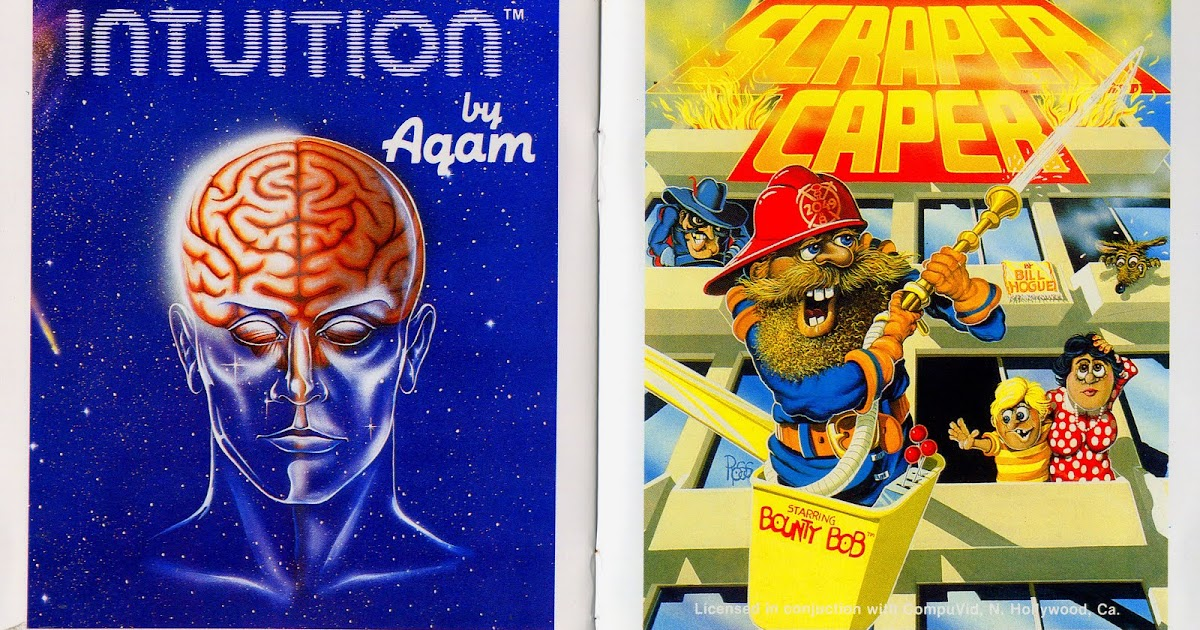 Gaming After 40: Unreleased: Intuition and Scraper Caper for the