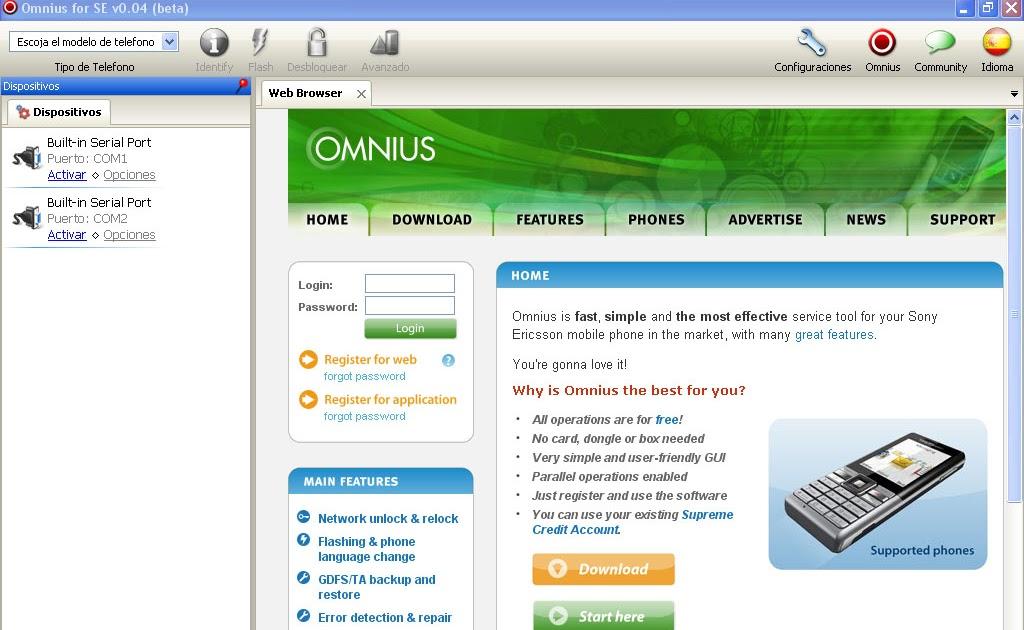 El Loco Del Rinc 243 N Liberar M 243 Viles Sony Ericsson Con Omnius