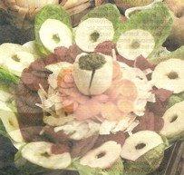 Receta de Ensalada de Betarragas y Manzanas