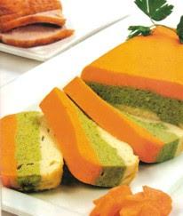 Receta de Budín (timbal) de verduras