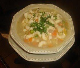Receta de Sopa de Papas y Tocino (sopa campesina)