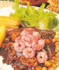 Receta de Cebiche de Conchas Negras y Langostinos