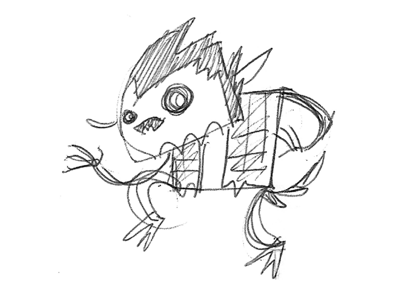 Free coloring pages of the 3 billy goats gruff