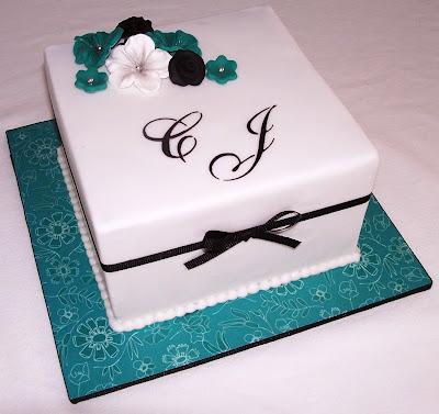 Vanilla Lily Cake Design Wedding Anniversary Cake For Chris Jeff
