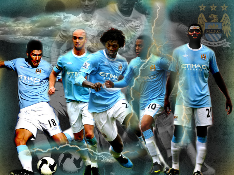 Manchester City Fc Wallpaper: HOME OF SPORTS: Man City Wallpaper&Picture